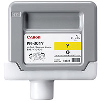 Click To Go To The PFI-301Y Cartridge Page